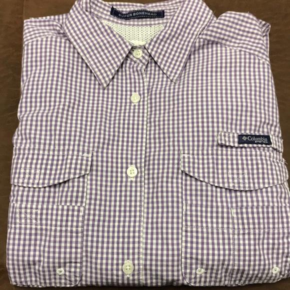 5bbb7bbb79a Columbia Shirts   Pfg Omni Shade Mens Large Long Sleeve   Poshmark